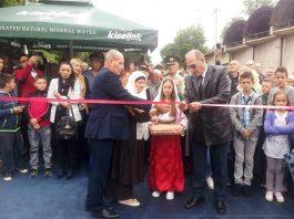 Breza: Otvoren obnovljeni most u ulici 6. april