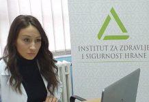 Maja Trifković, nutricionistica INZ-a