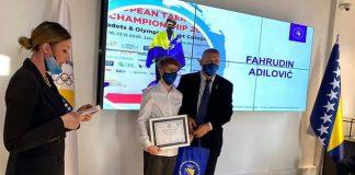 Fahrudin Adilović, specijalna nagrada
