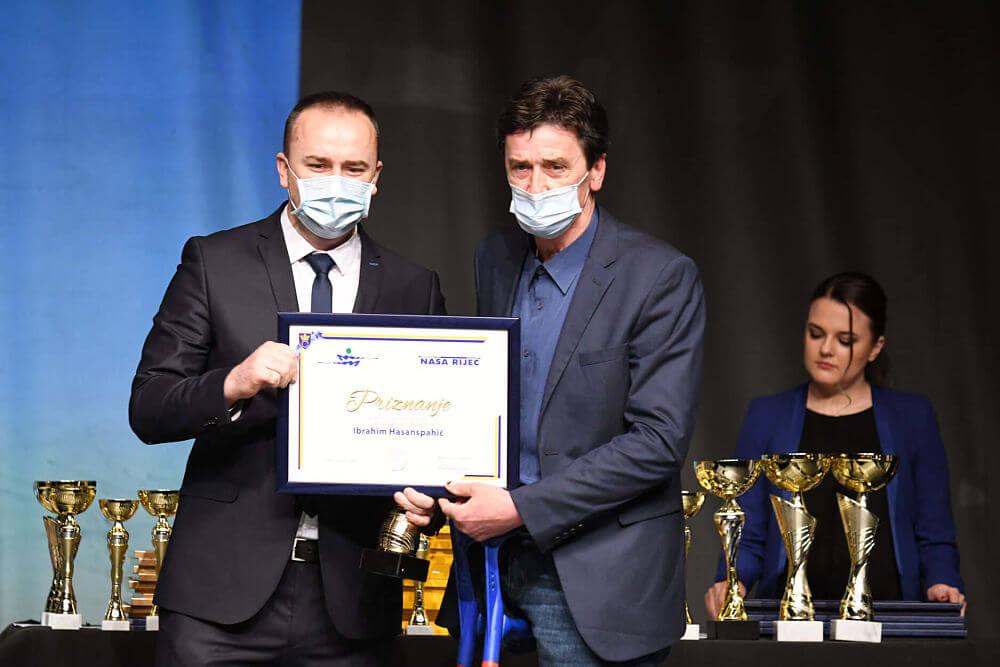 Ibrahim Hasanspahić, Savez za sport i rekreaciju invalida općine Breza - Foto: Naša riječ