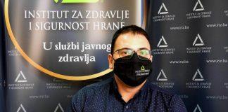 doc. dr. Nino Hasanica, načelnik Službe za školsku higijenu u Institutu za zdravlje i sigurnost hrane Zenica