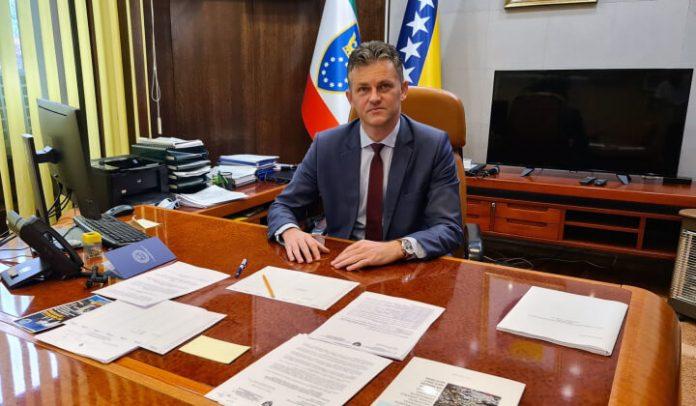 Mirnes Bašić, premijer ZDK