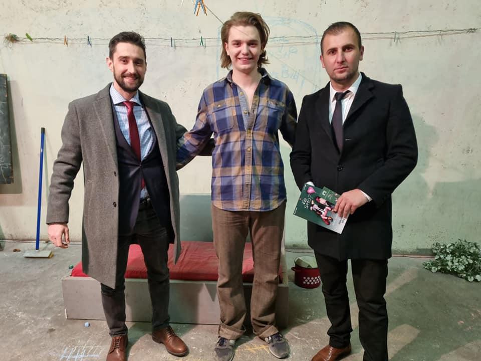 Vedad Jusić, Ibrahim Tatar i Anel Rihić - Foto: Vedad Jusić