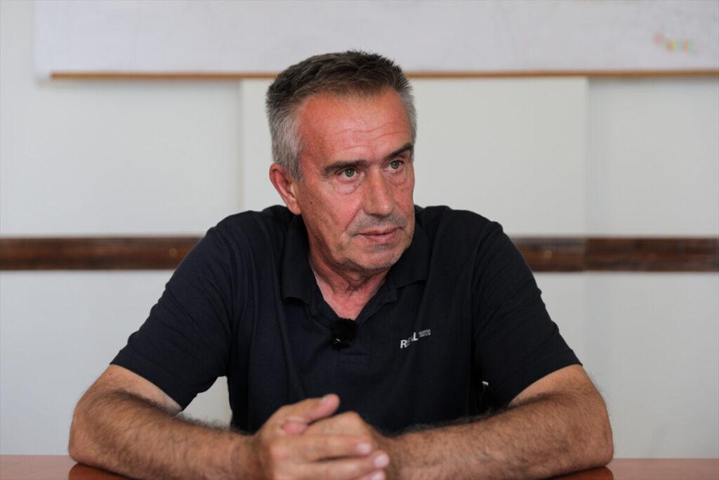 Amir Kadrić iz Odbora sindikata rudnika RMU Breza - Foto: Anadojija