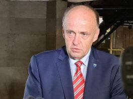 Adnan Jupić, ministar zdravstva i predsjednik Kriznog štaba ZDK
