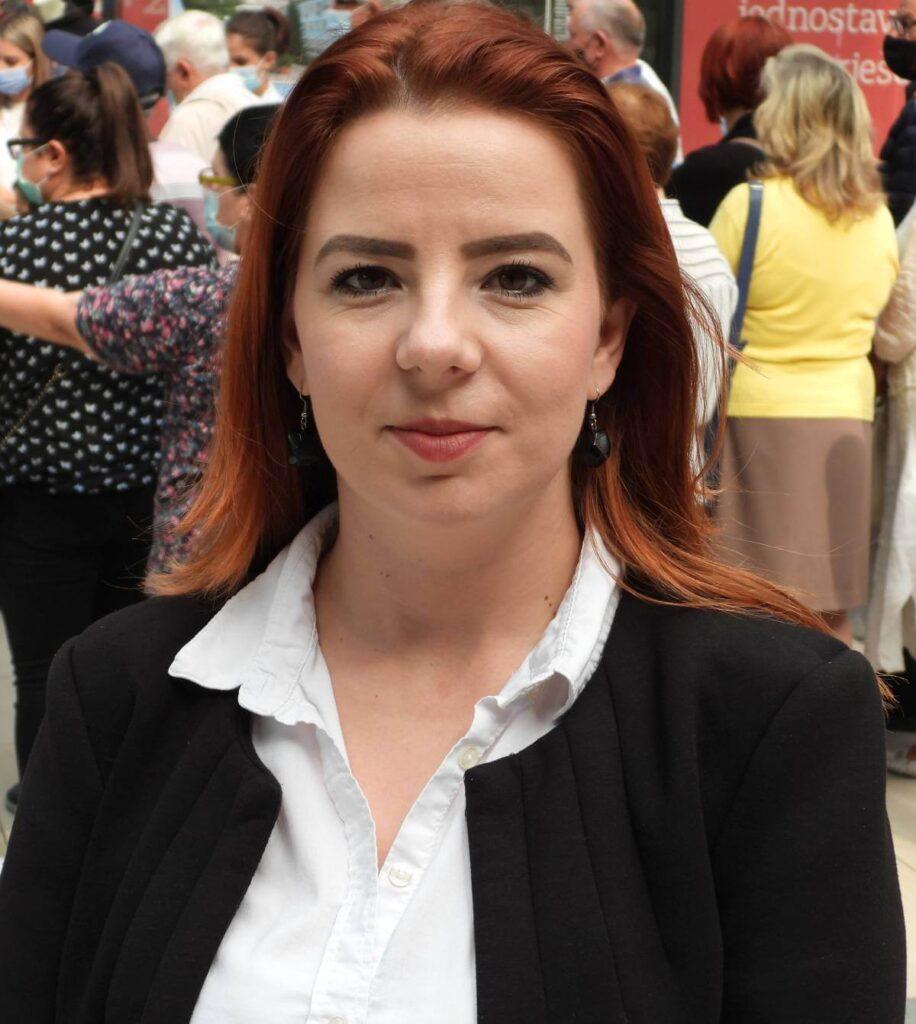 Dr. Elma Kuduzović, rukovoditeljica Odjeljenja za promociju zdravlja u Institutu za zdravlje i sigurnost hrane Zenica