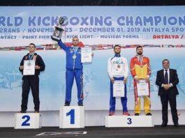 Edin Vučelj - svjetski prvak u kickboxu