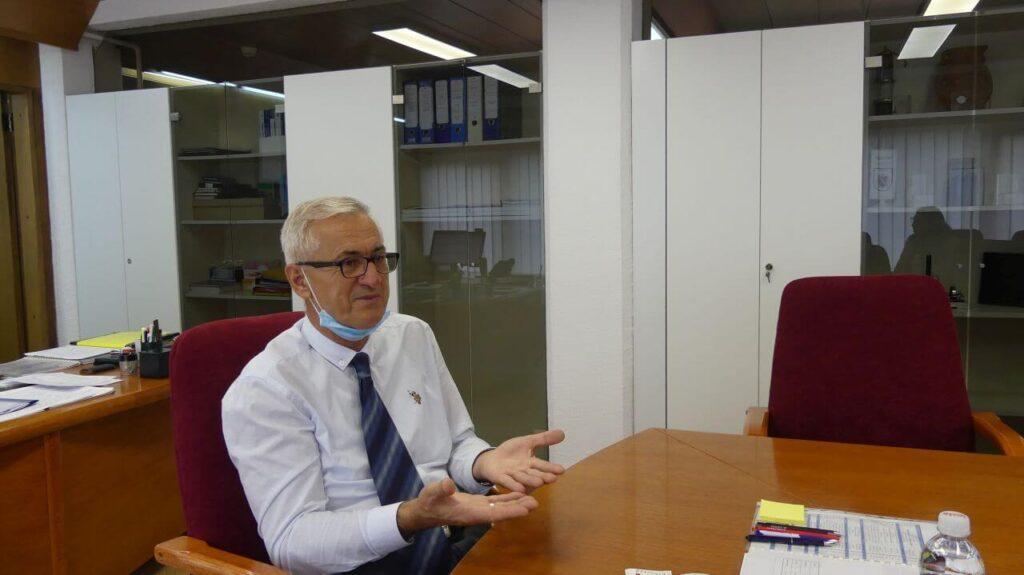 Direktor termoelektrane Izet Džananović / Foto: Naratorium