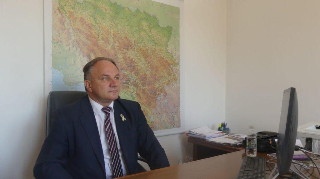 Ministar prostornog uređenja i zaštite okolice Tuzlanskog kantona Zvjezdan Karadžin / Foto: Naratorium